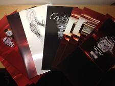 Set Cartier watches 19 PHOTOS Lote de 19 FOTOS relojes Cartier  Color 20 x 41 cm