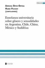 Ense�anza Universitaria Sobre G�nero y Sexualidades en Argentina, Chile,...