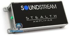 RB SOUNDSTREAM ST4.1000D MOTORCYCLE 4CHANNEL 1000W COMPONENT SPEAKERS AMPLIFIER