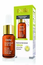 Delia Face Neckline Serum Mandelic Almond Acid 5 Smoothing 10ml Dl042