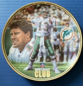 (4) Dan Marino Bradford Exchange Collector Plates, Miami Dolphins