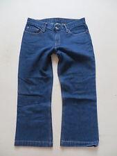 Levi's® Capri Jeans Hose Gr. 38, Einzelstück ! mit Äpfeln auf den Gesäßtaschen !