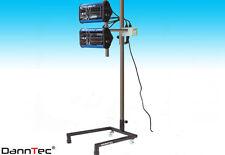 IR Strahler IR- Lacktrockner 2 Lampen  230V  Infrarotstrahler Heizstrahler