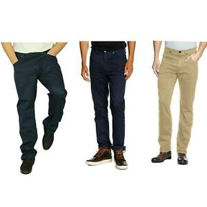Lee Brooklyn Regular Fit Stretch Jeans Straight Leg Casual Smart Pants Trousers