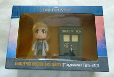 Doctor Who: Thirteenth Kwaii Doctor and TARDIS twin-pack Titans Vinyl Figures