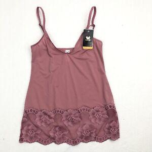 Wacoal Women's Light & Lacy Camisole Tank 811363 Pink Size S