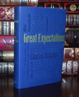 Great Expectations by Charles Dickens Unabridged Deluxe Soft Leather Feel