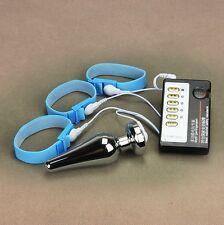 Butt Plug Electro E Stim Machine Double  Stinger Electro Sex  Play Machine zt068