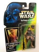 Star Wars Power of the Force POTF2 1 .00 Princess Leia Boushh Disguise .02 Green