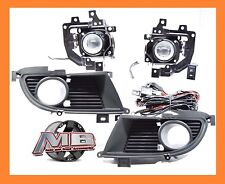 2006 Mitsubishi Lancer Fog Lights Front Driving Lamps Clear Lens PAIR Wiring