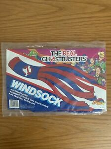 Vintage 80's Real Ghostbusters Sealed Windsock Brand New