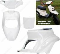 KIT CARENE COMPLETE 4 PZ COLORE BIANCO MBK BOOSTER SPIRIT 50 YAMAHA BW'S