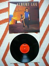 Albert Lee Self Titled Vinyl Cover Signed Autograph UK 1982 Polydor A2/B1 LP EXC