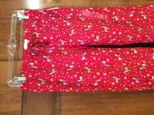 New Gap Womens  Love GapBody Flannel Pajama Lounge Pants Red Deer XS $59.99 NWT