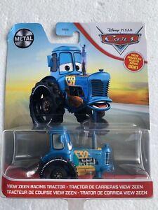 2021 Disney Pixar Cars Diecast View Zeen Racing Tractor 39 Metal Series VHTF New