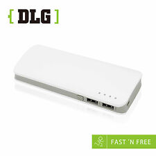 DLG 10400mAh STREAMLINED-DESIGN Power Bank Portable External Battery Charger