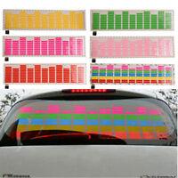 Car Sticker 45*11.6 Auto Music Rhythm LED Flash Light Lamp Sound Activated NEW