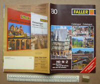 1980 Vintage Faller H0-N-Z Superb Full Range Giant Model Railway Catalogue (R149