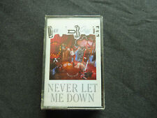DAVID BOWIE NEVER LET ME DOWN RARE ORIGINAL 1987 NEW SEALED CASSETTE TAPE!