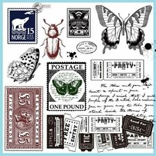 Transparent Clear Silicone Stamp Seal For DIY Acrapbooking Photo Album Decor AU