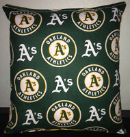 A's Pillow Oakland Athletics MLB Handmade in USA
