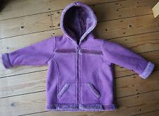 Girls' Fleece Basic Coats (2-16 Years)