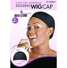 MAGIC Large Thick Band Wig Cap for Extra Comfort, Breathable (2pcs in a pack)