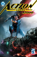 Action Comics 1000 Francesco Mattina Trade Variant LTD 3000 DC Superman 1st App