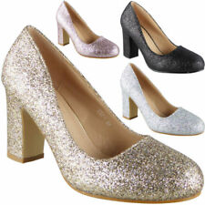 Court Synthetic High (3 to 4 1/4) Heel Height Heels for Women