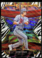 JOSH ROJAS 2020 PANINI SELECT ROOKIE RC ZEBRA PRIZM SSP ARIZONA DIAMONDBACKS