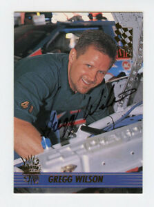 Gregg Wilson 1995 VIP Autographs Auto Pack Pulled Insert Card Press Pass COA