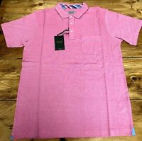 Homme Williams /& marron kaki chiné Polo Shirt-Taille UK 4XL 60//62 tour de poitrine