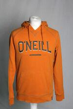 O'Neill Hooded Fleece Jacket Hoodie Pullover Jumper Orange Size Med V.G.C!