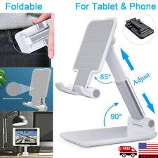 Foldable Adjustable Tablet Mobile Phone iPad iPhone Desktop Holder Mount Stand
