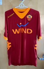 Francesco Totti A.S. Roma Autographed Red Home Jersey