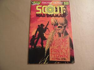 Scout War Shaman #2 (Eclipse Comics 1988) Free Domestic Shipping