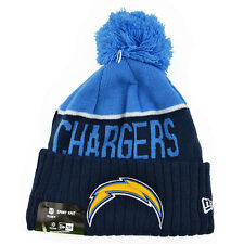 San Diego Chargers 2015 NFL On-Field Sports Knit Pom New Era Hat