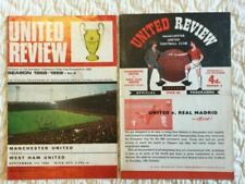 West Ham United Football Programmes