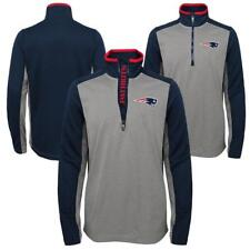 "New England Patriots Youth NFL ""Matrix"" 1/4 Zip Pullover Top - XL(18)"