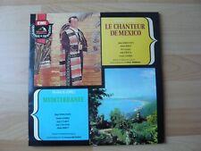 LE CHANTEUR DE MEXICO - MEDITERRANNE   ALBUM 2X33T DISQUE VINYL