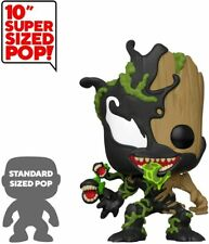 "Funko POP Marvel Venom  Max Venom 10"" Groot -  new"