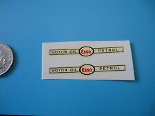 (Tr34) DINKY TOYS 442 PETROL TANKER ESSO transfer decalcomanie