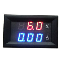 10A DC 00100V Dual LED Digital Voltmeter Amperemeter Spannung AMP PowerVolt Fast