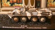 BTR-80 98 AIRBONE DIVISION KFOR PRISTINA SERBIE 1999 1/72 RUSSIA RADPANZER