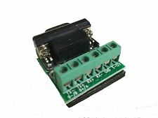 RS422 RS485 Serial DB9 to Terminal Block Adapter