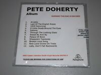 Rare Pete Doherty Album Promo CD Different Tracks To Release