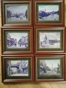 6x Framed B. Goudy Prints, Victorian Stockport