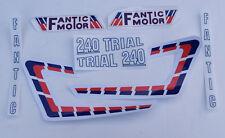 Fantic 240 Decal Kit Twinshock Trials