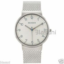 Skagen Original SKW6163 Men's Archer Silver Stainless Steel Mesh Watch 40mm