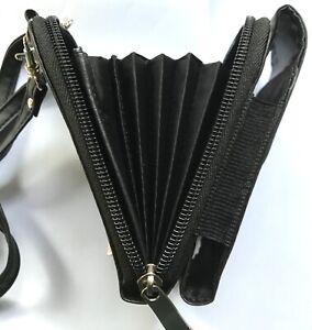Orga-Tasche mit 10 Fächern und magnetischem Clip, ca. 8 x 5 x 13 cm, NEU